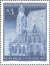 [The 25th Anniversary of the Reopening of St. Stephen's Cathedral, Typ AOT]