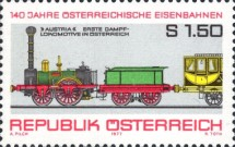 [The 140th Anniversary of Austrian Railroads, Typ APH]