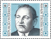 [The 100th Anniversary of the Birth of Egon Friedell, Typ APO]