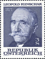 [The 25th Anniversary of the Death of Leopold Kunschak, Typ APR]