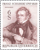 [The 150th Anniversary of the Death of Franz Schubert, Typ AQM]
