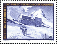 [The 100th Anniversary of the Austrian Alpine Club, Typ AQP]