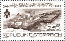 [The 150th Anniversary of the First Danube Steam Shipping Company, Typ AQX]
