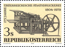 [The 175th Anniversary of the Austrian State Printing Press, Typ ARQ]