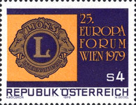 [The 25th European Forum of the Lions Club Vienna 1979, Typ ARU]