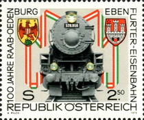 [The 100th Anniversary of the Raab-Ödenburg-Ebenfurter Railway, Typ ARX]