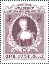 [The 200th Anniversary of the Death of Empress Maria Theresa, type ASI]