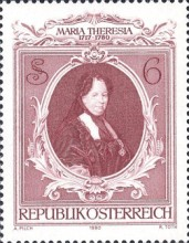 [The 200th Anniversary of the Death of Empress Maria Theresa, type ASK]