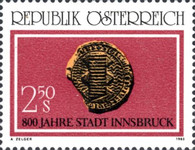 [The 800th Anniversary of the City of Innsbruck, type ASR]