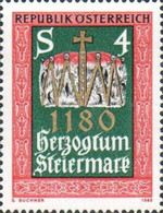 [The 800th Anniversary of the Duchy of Styria, type ASS]
