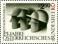 [The 25th Anniversary of the Austrian Federal Army, type ATD]