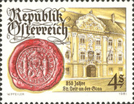 [The 850th Anniversary of the City of St. Veit on Glan, type ATT]