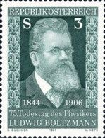 [The 75th Anniversary of the Death of Ludwig Boltzmann, type ATV]