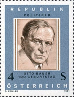 [The 100th Anniversary of Otto Bauer, type ATX]