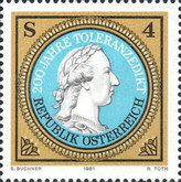 [The 200th Anniversary of the Edict of Toleration, Typ AUD]