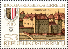 [Provincial Exhibition - The 1000th Anniversary of Upper Austria, Typ AWC]