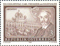 [The 150th Anniversary of Carl Freiherr von Hasenauer, Typ AWM]