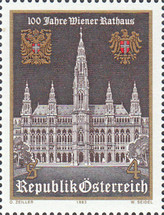 [The 100th Anniversary of Vienna Town Hall, Typ AWS]