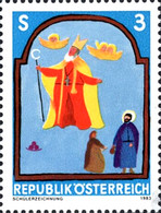 [Youth Stamp - Child's Drawing (St. Nicholas), Typ AXB]