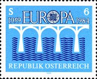 [EUROPA Stamps - Bridges - The 25th Anniversary of C.E.P.T., Typ AXM]