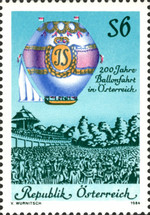 [The 200th Anniversary of Ballooning in Austria, тип AXZ]
