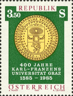 [The 400th Anniversary of Karl Franzens University Graz, Typ AYN]