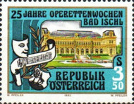 [The 25th Anniversary of the Operetta Festival of Bad Ischl, Typ AZI]