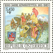 [The 1000th Anniversary of Königstetten, Typ AZN]