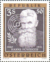 [The 125th Anniversary of Hanns Hörbiger, Typ AZU]
