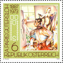 [The 100th Anniversary of the Birth of the Painters Anton Faistauer and Albert Paris-Gütersloh, Typ BBL]