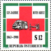 [The 125th Anniversary of the Red Cross, Typ BDF]