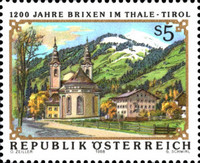 [The 1200th Anniversary of Brixen in Thale Tyrol, Typ BDO]