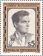 [The 100th Anniversary of the Birth of Ludwig Wittgenstein, type BEK]
