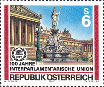 [The 100th Anniversary of the Interparliamentary Union, Typ BEW]