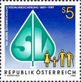 [The 100th Anniversary of Social Security in Austria, Typ BEX]