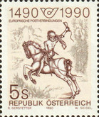 [The 500th Anniversary of European Postal Routes, Typ BFK]