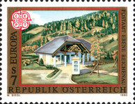 [EUROPA Stamps - Post Offices, Typ BFU]