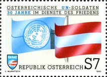 [The 30th Anniversary of Austrian U.N. Soldiers for the Cause of Peace, Typ BGK]