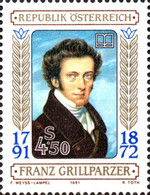 [The 200th Anniversary of the Birth of Franz Grillparzer, Typ BGT]
