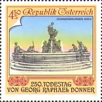 [The 250th Commemoration of the Death of Raphael Donner, Typ BGX]