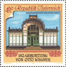 [Art: The 150th Anniversary of the Birth of Otto Wagner, Typ BHQ]