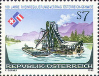 [The 100th Anniversary of Rhine Regulation Contract between Austria and Switzerland, Typ BIR]