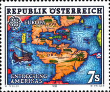 [EUROPA Stamps - The 500th Anniversary of the Discovery of America, Typ BIS]