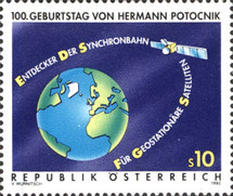 [The 100th Anniversary of the Birth of Space Pioneer Hermann Potocnik, Typ BJL]