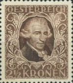 [Austrian Composers - Charity Stamps, Typ BK1]
