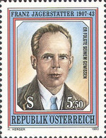 [The 50th Remembrance of the Death of Resistance Fighter Franz Jaegerstaetter, Typ BKH]