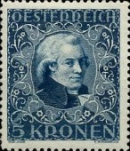 [Austrian Composers - Charity Stamps, Typ BL]