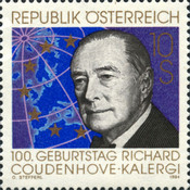 [The 100th Anniversary of the Birth of Richard Coudenhove-Kalergi, Typ BLW]