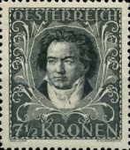 [Austrian Composers - Charity Stamps, Typ BM]