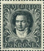 [Austrian Composers - Charity Stamps, Typ BM1]